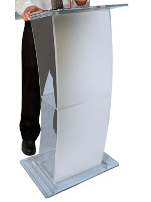 Eclipse Lucite Lectern